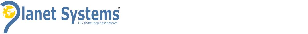 Planet Systems ® UG (haftungsbeschränkt) Logo